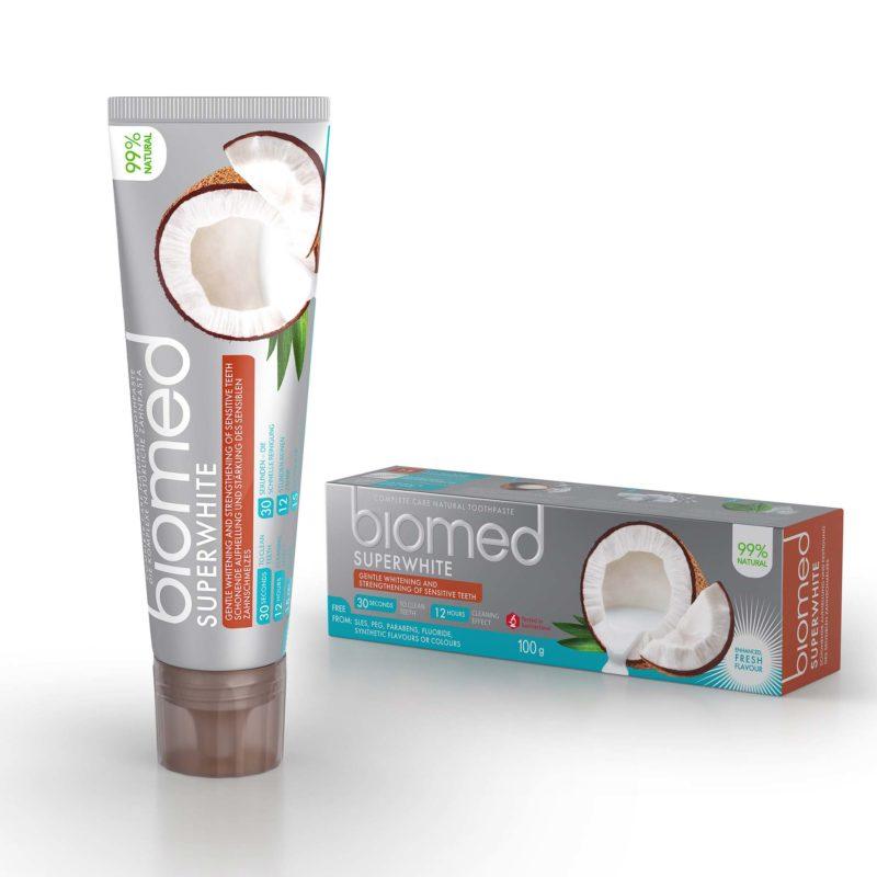 Zubní pasta bělíci Superwhite s přírodním kokosovým olejem