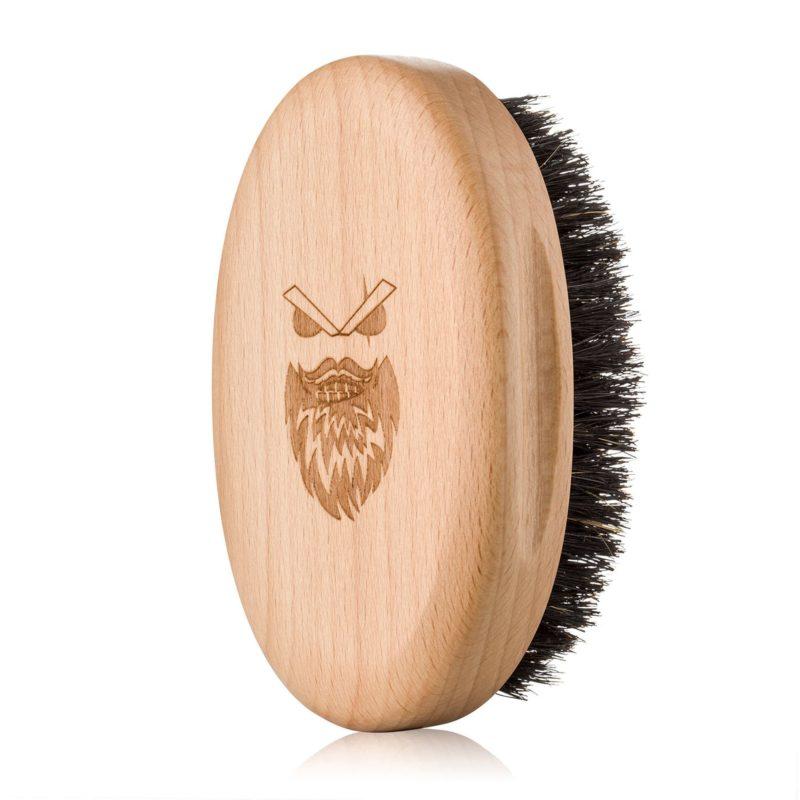 Angry Beards Dřevěný kartáč na vousy GENTLER