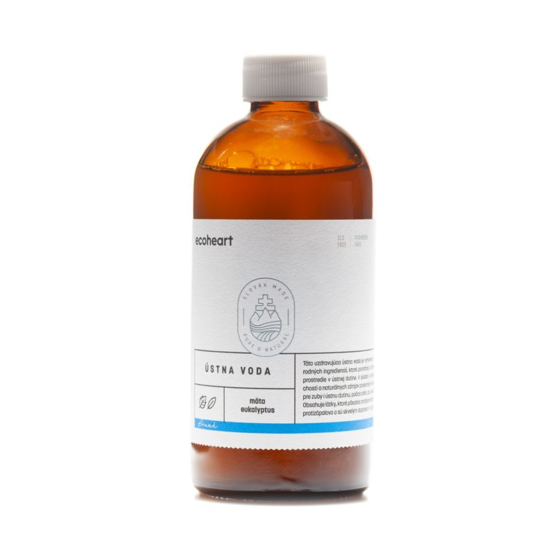 Ecoheart Ústní voda antibakteriálni FRESH