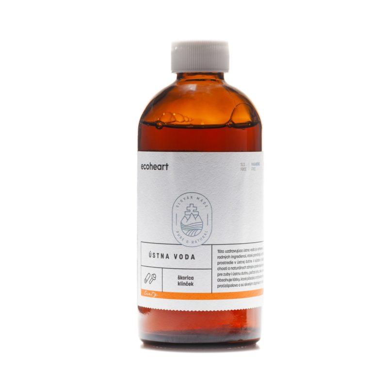 Ecoheart Ústní voda antibakteriálni TASTY