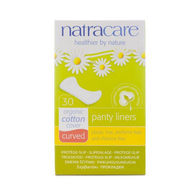 NatraCare Slipové vložky Tvarované