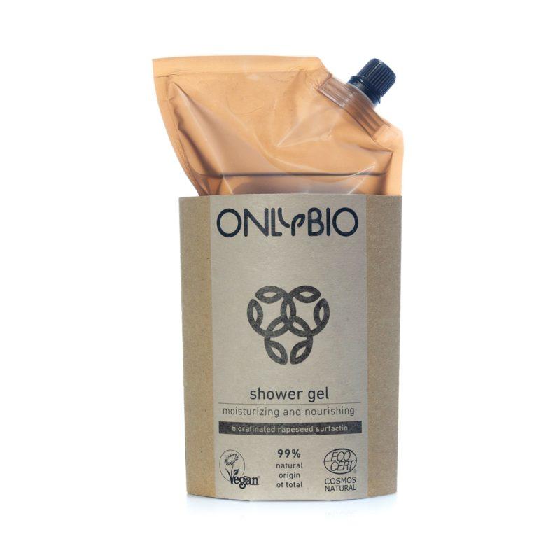 OnlyBio REFILL Hydratační a vyživující sprchový gel