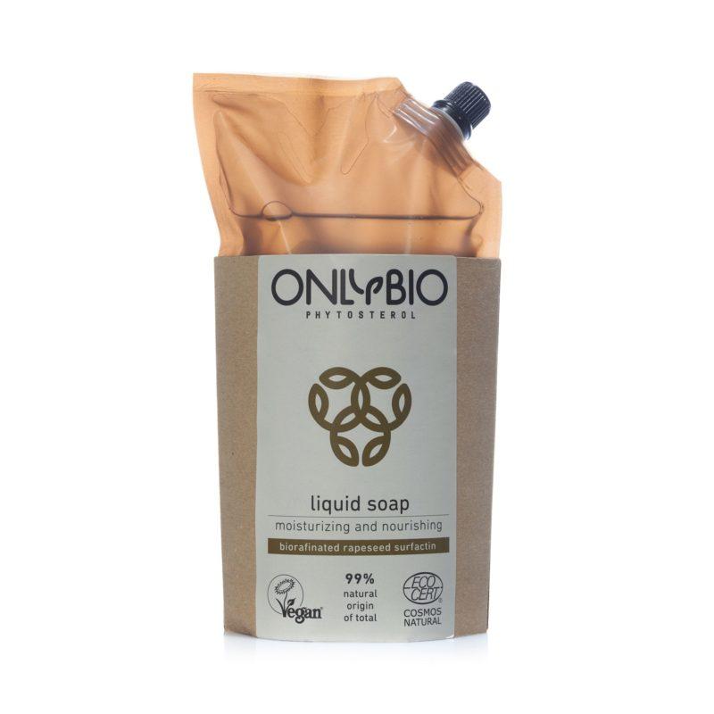 OnlyBio REFILL Hydratační a vyživující tekuté mýdlo na ruce
