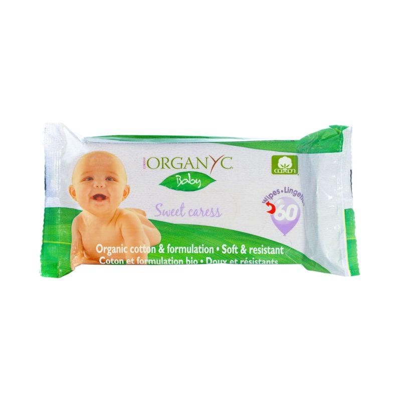 ORGANYC Dětské čistící ubrousky
