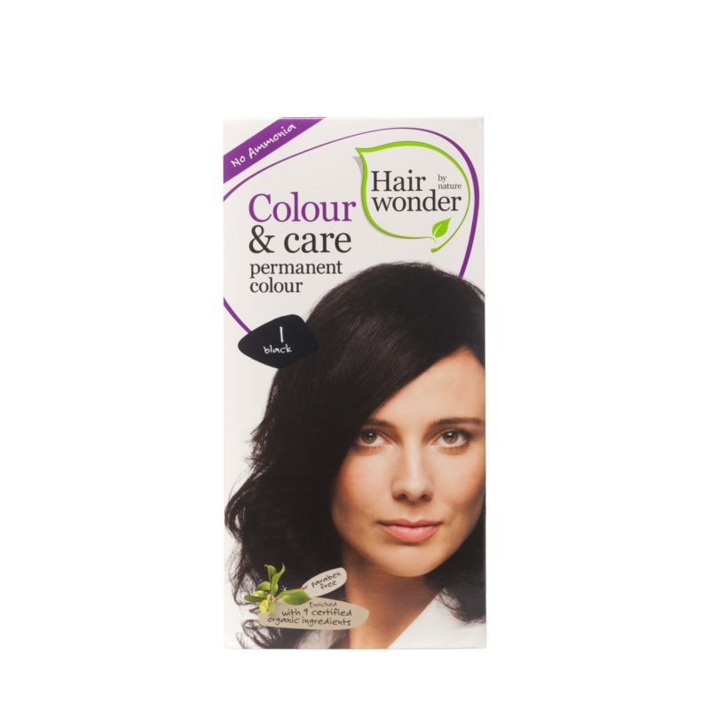Hairwonder Dlouhotrvající barva ČERNÁ 1