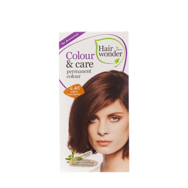 Hairwonder Dlouhotrvající barva MĚDĚNÝ MAHAGON 6.45