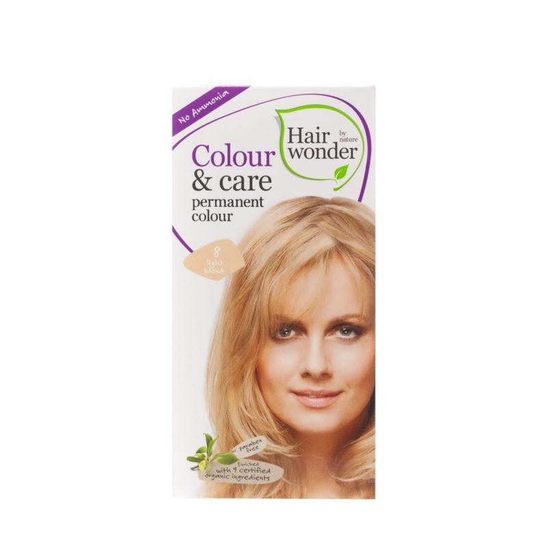 Hairwonder Dlouhotrvající barva SVĚTLÁ BLOND 8