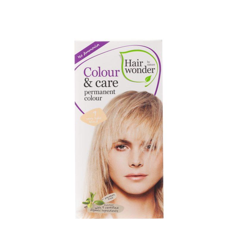 blond přírodní barva na vlasy