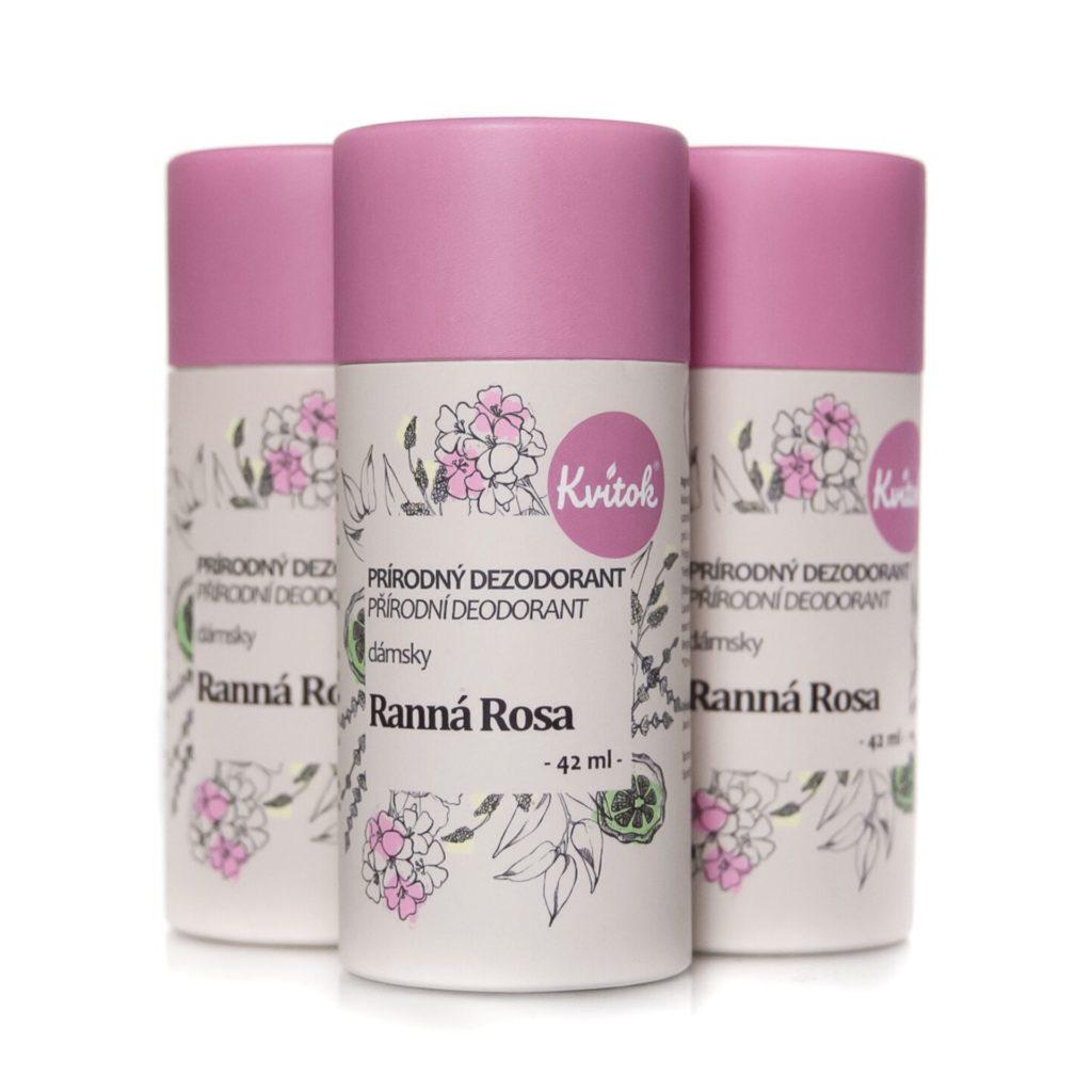 přírodní deodorant pro ženy