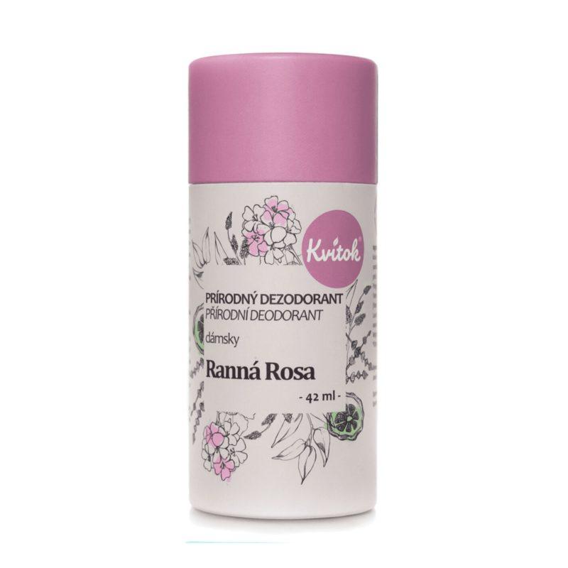 Kvitok Tuhý deodorant dámsky Ranní rosa