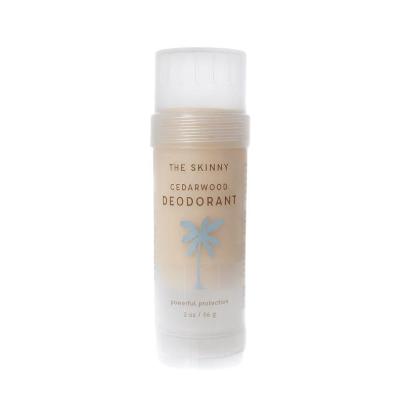 SkinnyCoco Tuhý deodorant Cedrové dřevo