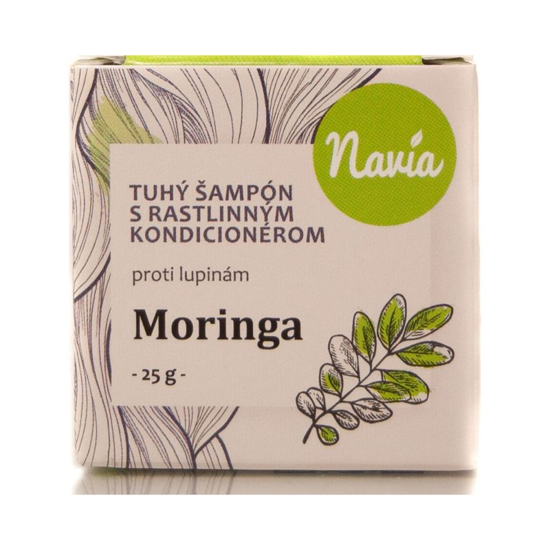Kvitok Tuhý šampon s kondicionérem proti lupům Moringa