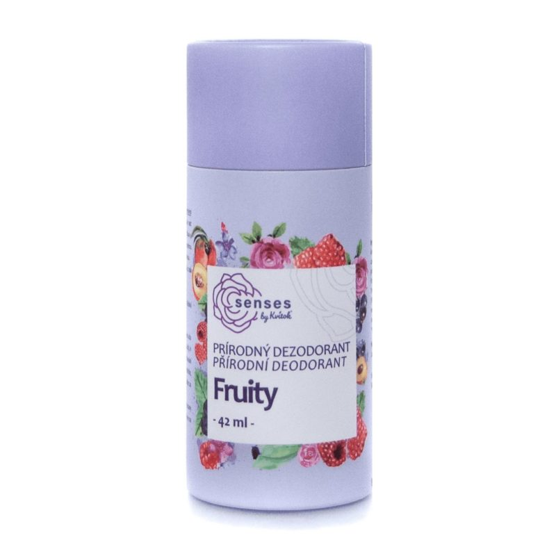 Kvitok Tuhý deodorant SENSES Fruity 42ml