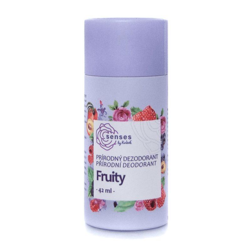 Kvitok Tuhý deodorant SENSES Fruity 42ml