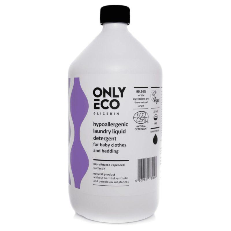 OnlyEco Hypoalergenní tekutý prací prostředek na dětské prádlo a ložní prádlo
