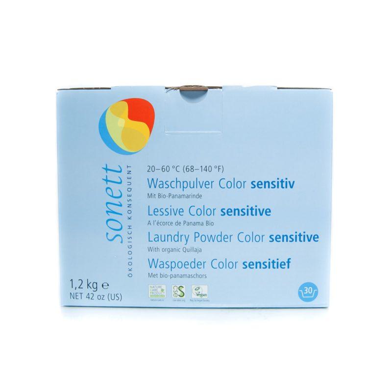 Sonett Prací prášek na barevné prádlo Sensitive BIO
