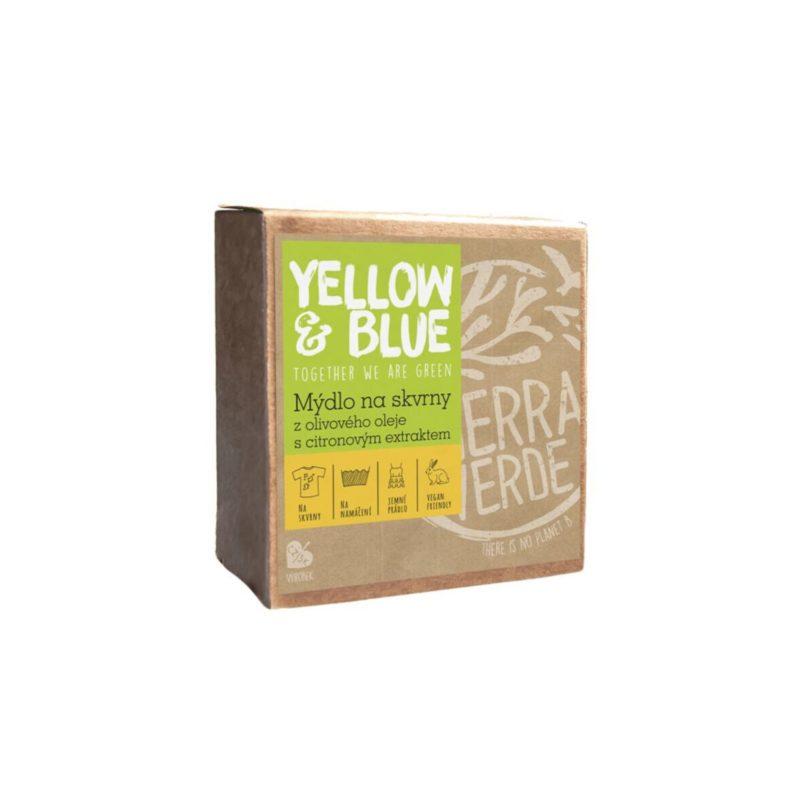 Yellow & Blue Olivové mýdlo na skvrny s citronovým extraktem