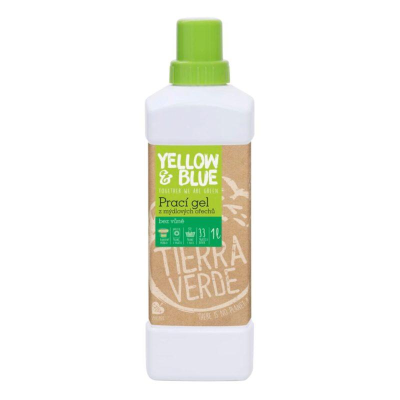 Yellow & Blue Prací gel bez vůně na bílé i barevné prádlo