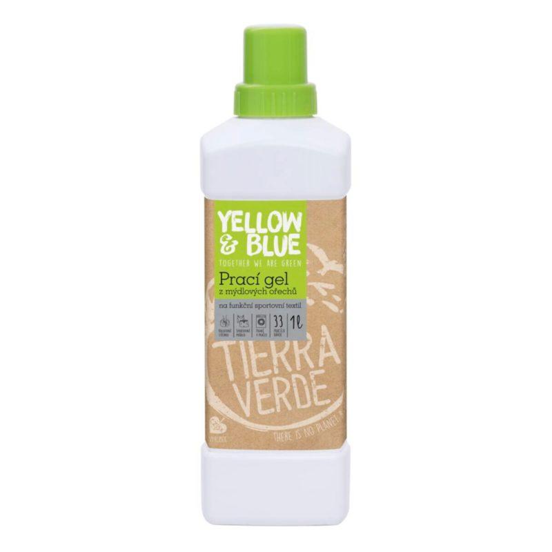 Yellow & Blue Prací gel na sportovní textil z mýdlových ořechů s koloidním stříbrem