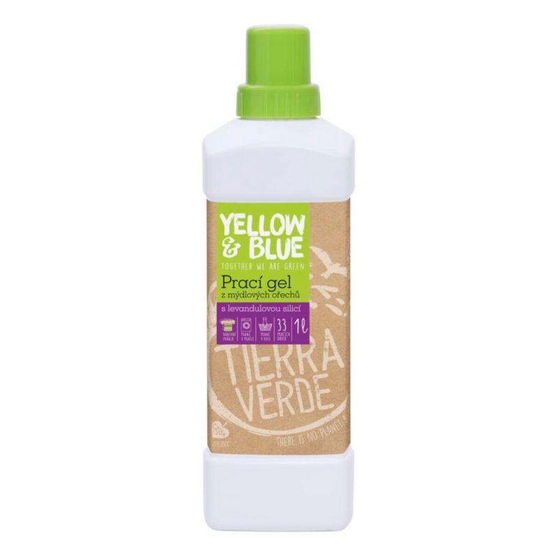 Yellow & Blue Prací gel s levandulí na bílé i barevné prádlo
