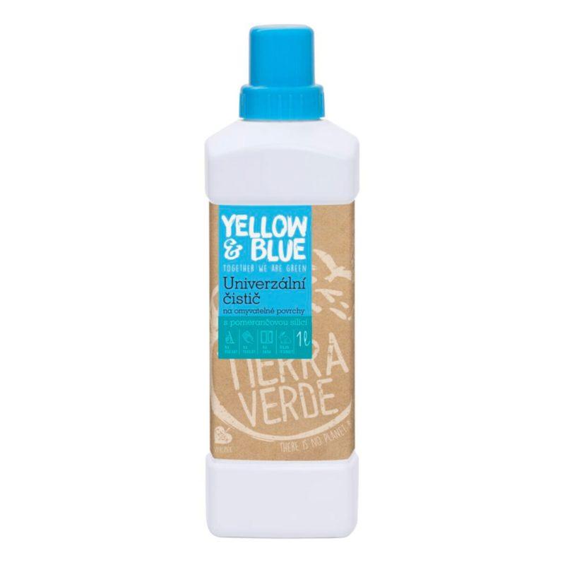 Yellow & Blue Univerzální čistič na omyvatelné povrchy s pomerančovou silicí