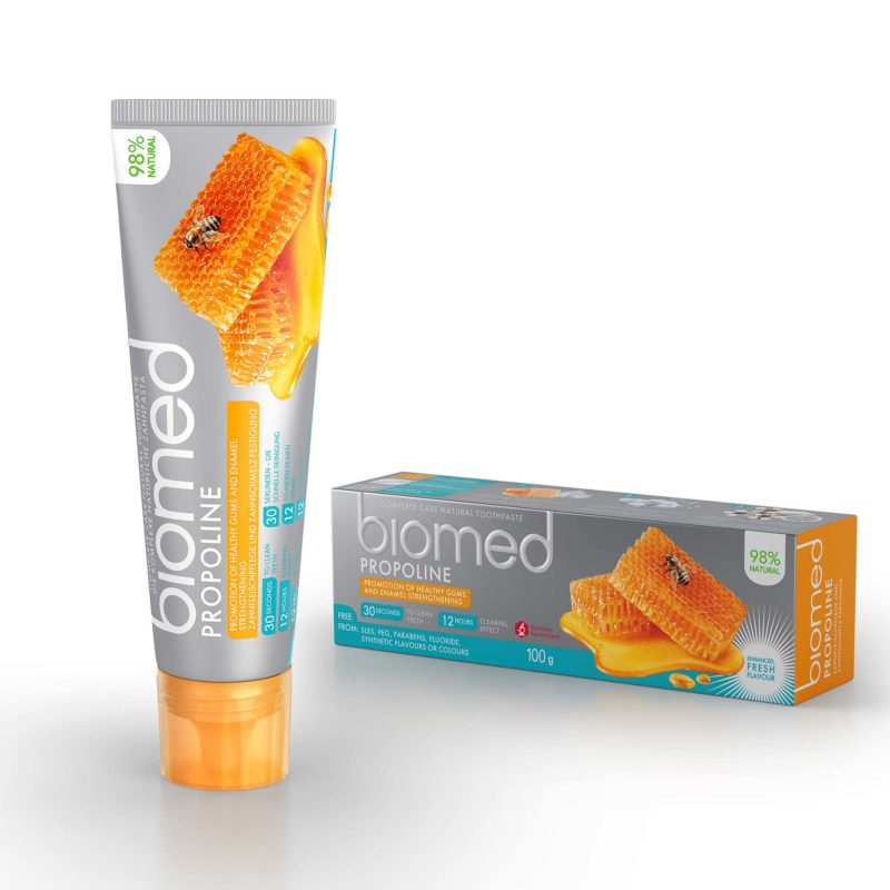 Zubní pasta pro ochranu dásní Propoline s přírodním medovým esenciálním olejem