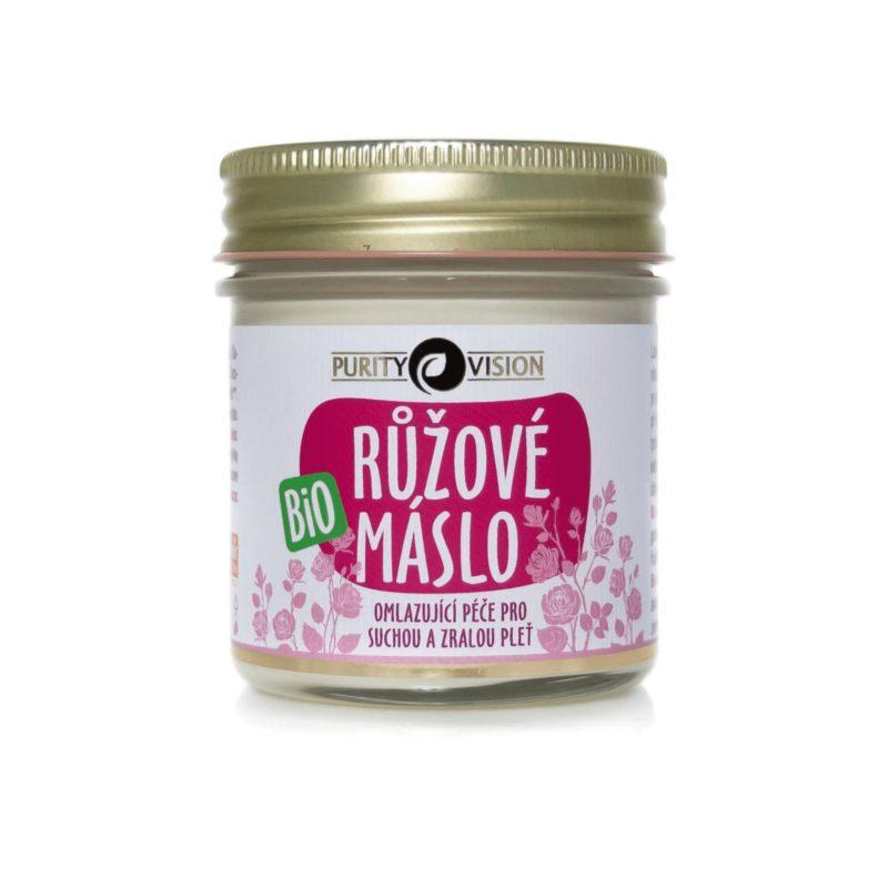Purity Vision Růžové tělové máslo BIO