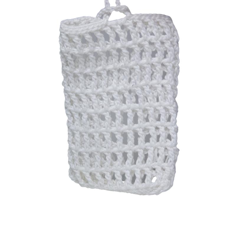 Ručně vyrobený obal na tuhá mýdla do sprchy
