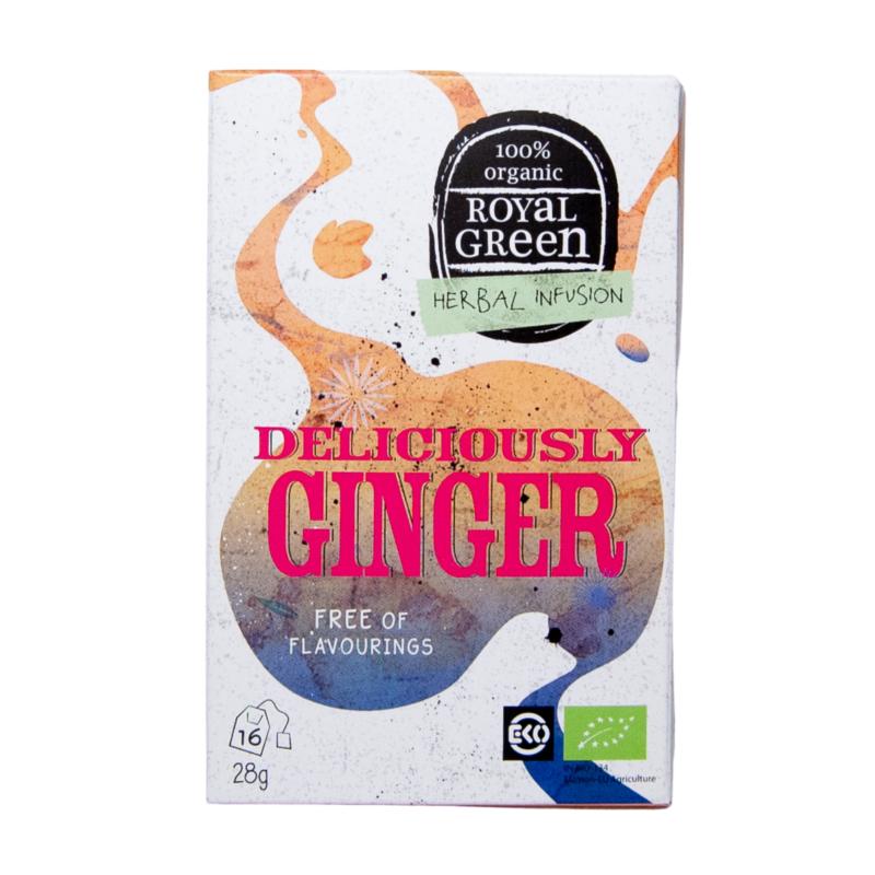 Zázvorový čaj Deliciously Ginger
