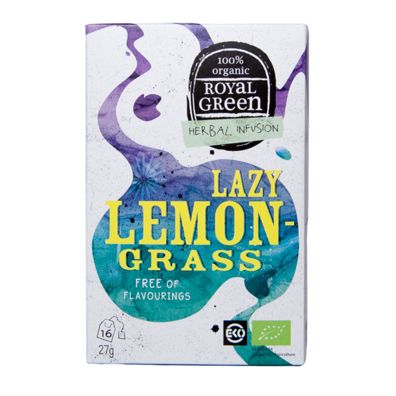 BIO Bylinný čaj Lazy Lemongrass (16x1,7g)
