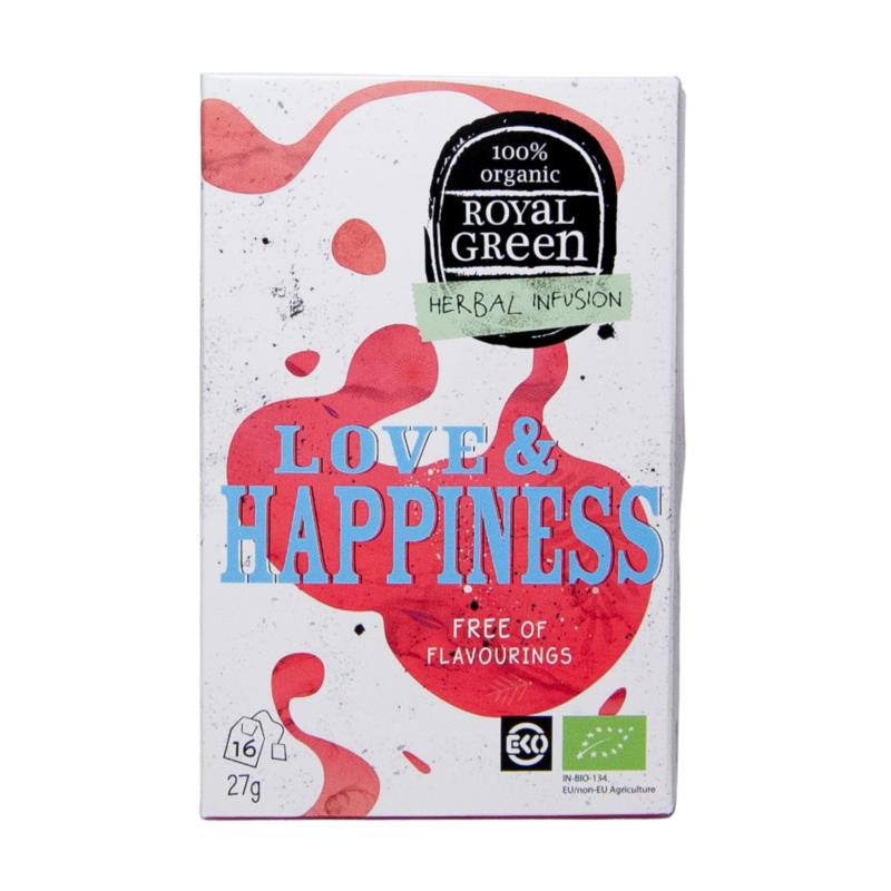BIO Bylinkový čaj Love & Happiness