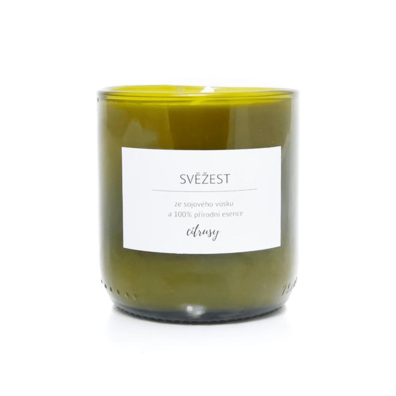 Vonná svíčka ze sójového vosku Citrusy