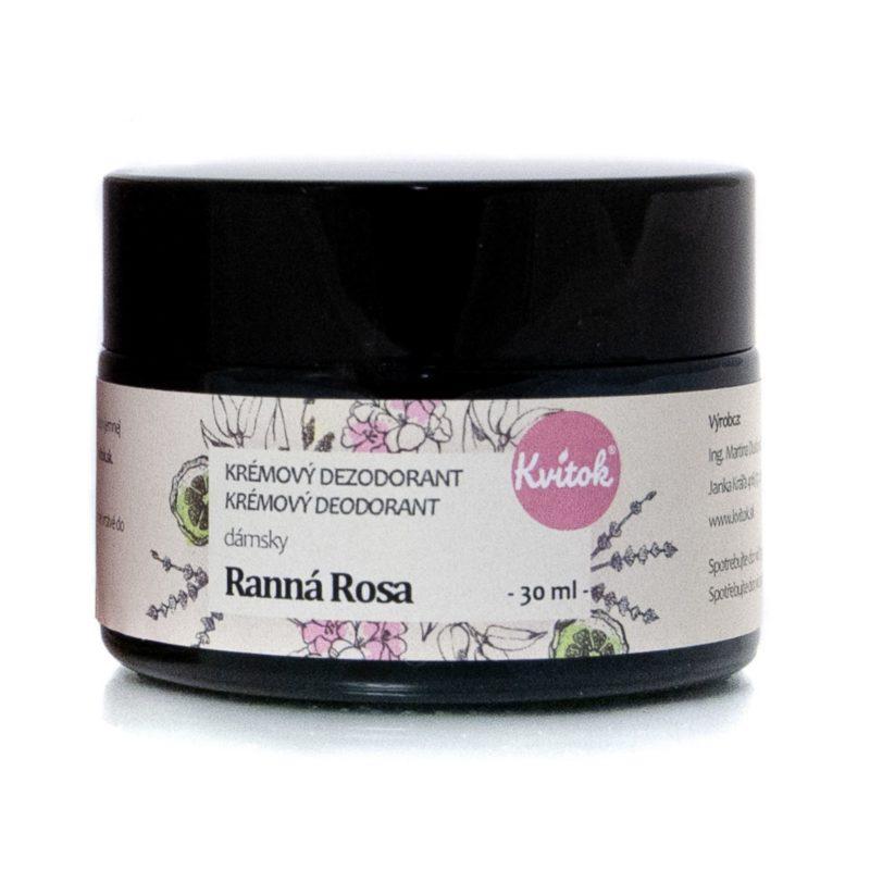Kvitok Krémový deodorant Ranní rosa