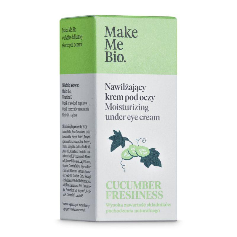 Make Me Bio Hydratační a rozjasňující oční krém Cucumber Freshness