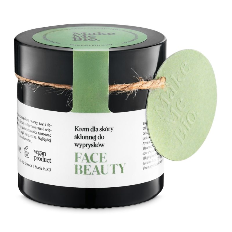 Make Me Bio Lehký denní krém pro pleť se sklony k tvorbě akné Face Beauty