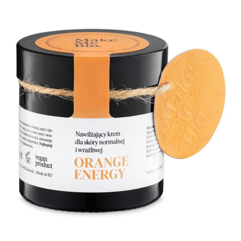 Make Me Bio Hydratační krém pro normální a citlivou pleť Orange Energy