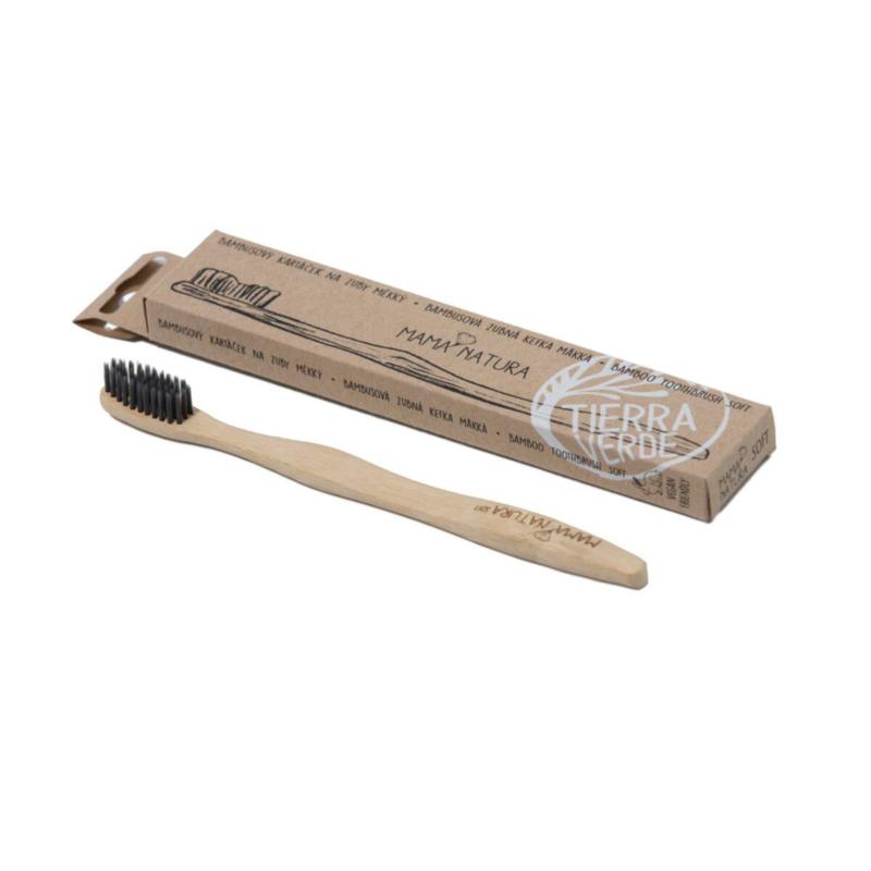 Tierra Verde Bambusový kartáček na zuby soft