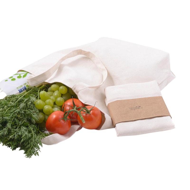 plátěná taška z bio bavlny